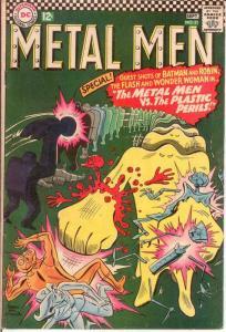 METAL MEN 21 VG-F Sept. 1966 COMICS BOOK