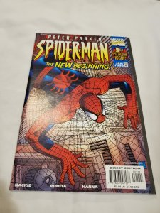Peter Parker Spider-Man 1 Near Mint- Script by Howard Mackie