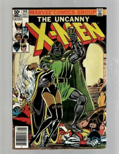 Uncanny X-Men # 145 NM Marvel Comic Book Colossus Angel Wolverine Storm J450