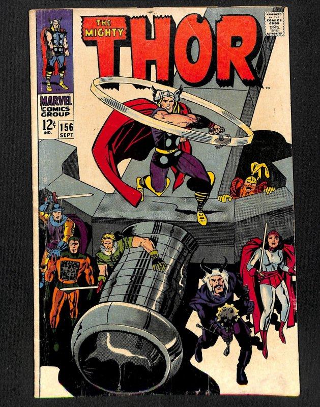 Thor #156 (1968)