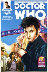 DOCTOR WHO #1, NM, 10th, Tardis, SDCC, 2014, Titan, Variant, more DW in store,PX