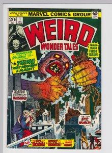 Weird Wonder Tales #1 (Dec 1973) 6.5 FN+ Marvel Horror