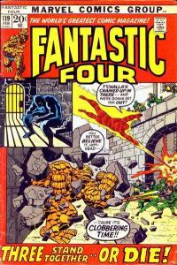 Fantastic Four (1961 series) #119, VF- (Stock photo)