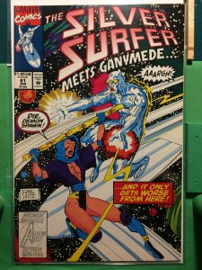 The Silver Surfer #81 Meets Ganymede...
