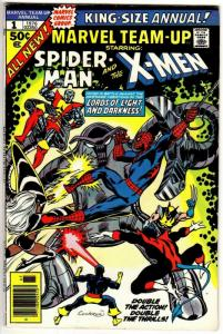 MARVEL TEAM UP ANN  1 F-VF 1976   SPIDEY &  THE X-MEN!