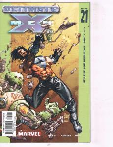 Lot Of 10 Ultimate X-Men Marvel Comic Book # 21 22 23 24 25 26 27 28 29 30 TW32