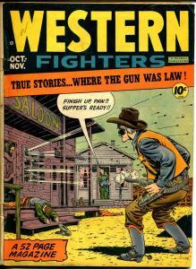 Western Fighters #4 1948-Hillman-gunfight-Fuje-Krigstein-Ingles-VG