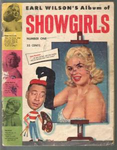 Earl Wilson's Album of Showgirls #1 1956-1st issue-Sophia Loren-cheesecake-P