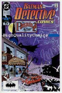 DETECTIVE #615, NM+, Batman, Alan Grant, 1990, Gotham City, more DC in store