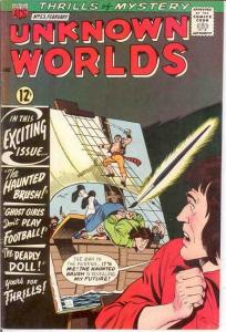 UNKNOWN WORLDS (1960-1967 ACG) 53 VF  February 1967 COMICS BOOK