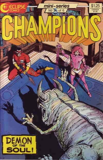 Champions (Eclipse) #3 VF/NM; Eclipse | save on shipping - details inside