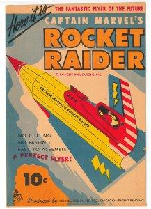 1944 Captain Marvel's Rocket Raider, the Fantastic Flyer of the Future
