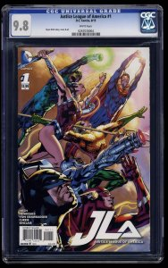 Justice League Of America (2015) #1 CGC NM/M 9.8 White Pages