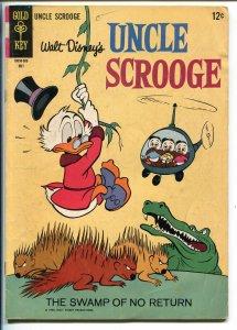 UNCLE SCROOGE #57 1965-GOLD KEY-WALT DISNEY-CARL BARKS ART-vg