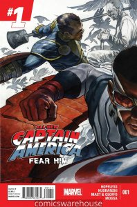 ALL NEW CAPTAIN AMERICA FEAR HIM (2014 MARVEL) #1 NM