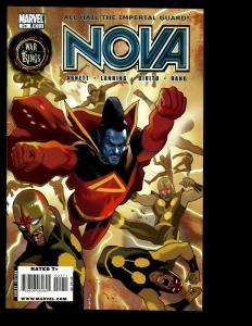 Lot Of 6 Nova Marvel Comics # 24 25 26 27 28 29 War Of Kings Avengers Thor SM2