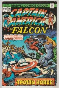 Captain America #194 (Feb-76) FN/VF+ High-Grade Captain America