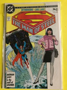 SUPERMAN   THE MAN OF STEEL MINI SERIES   #2 OF 6  1986  DC  /  UNREAD