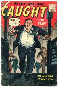 Caught #3 1956-Atlas-John Severin-Joe Maneely-Pakula-Angelo Torres-VG-