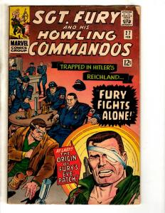 Sgt. Fury & His Howling Commandos # 27 VG/FN Marvel Comic Book Silver Age J306