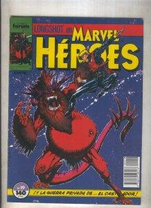 Marvel Heroes numero 19: Longshot  (numerado 4 en trasera)