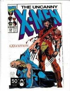 THE UNCANNY X-MEN #276  VF/FN     MARVEL COMICS