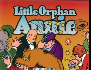LITTLE ORPHAN ANNIE VOL 4-1934 REPRINTS-HAROLD GRAY-TPB FN