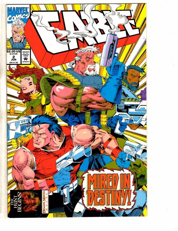 Cable # 2 NM Marvel Comic Book X-Force Weasel X-Men Wolverine Deadpool GM10
