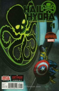 Hail Hydra #1 VF/NM; Marvel | save on shipping - details inside