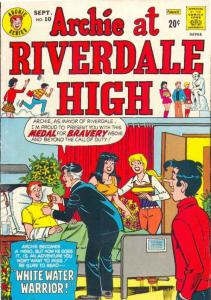 Archie At Riverdale High #10 (Sep-73) VF High-Grade Archie