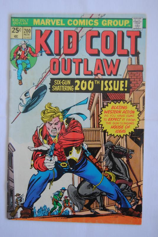 Kid Colt Outlaw #200