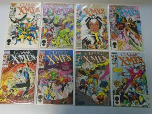 Classic X-Men lot 52 different from #1-96 avg 8.0 VF (1986-94)