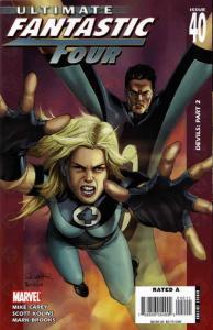 Ultimate Fantastic Four #40 VF; Marvel | save on shipping - details inside