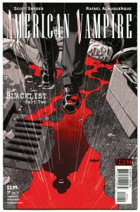 AMERICAN VAMPIRE #29, VF+, BlackList, Vertigo,2010, Variant, more in store