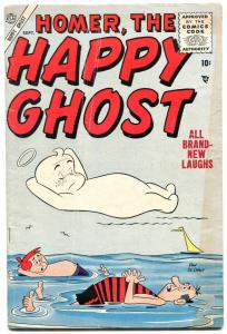 Homer The Happy Ghost #4 1955-Dan DeCarlo art- Atlas comics VG
