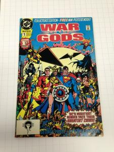 War of the Gods 1 VF- 1st Circe complete w/poster
