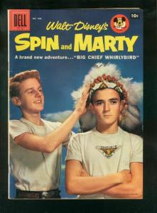 SPIN AND MARTY-FOUR COLOR #808 1957-DELL COMICS FN