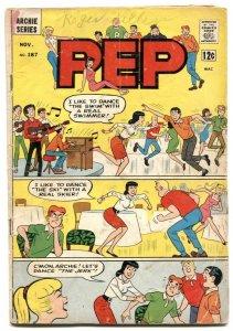 Pep Comics #187 1965-Archie- Betty & Veronica G