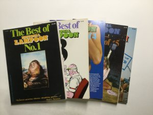 National Lampoon 1 3-6 Magazine Lot Very Fine Vf 8.0 National Lampoon