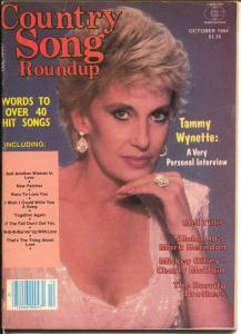 Country Song Roundup-10/1984-Tammy Wynette-Mickey Gilley-Burrito Brothers-FN