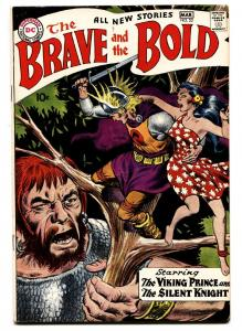 The Brave and the Bold #22 1959- Viking Prince-comic book vf