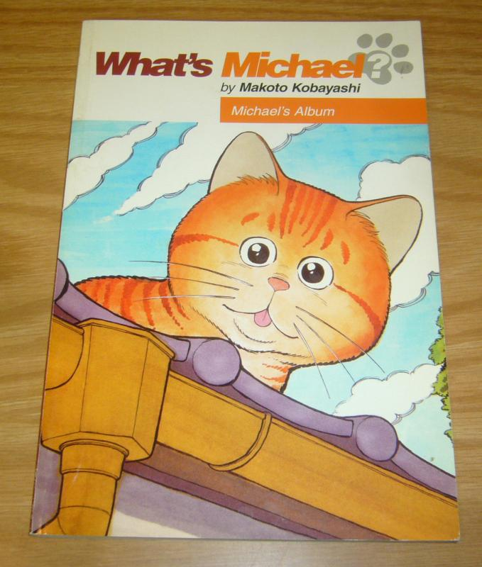 What's Michael? #1 VF/NM michael's album - makoto kobayashi - dark horse manga