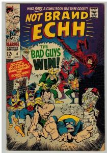 NOT BRAND ECHH 4 G November 1967