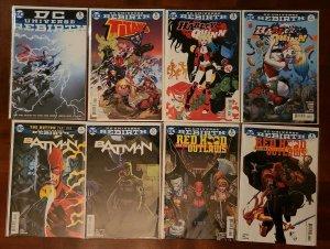 24 ISSUE LOT DC REBIRTH - SUPERMAN, BATMAN, SUPERGIRL, HARLEY QUINN, TITANS