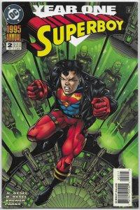 Superboy   vol. 3  Annual #2 FN (Year One)