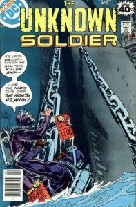 Unknown Soldier (1977 series) #226, VF+ (Stock photo)