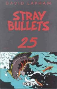 Stray Bullets #25 VF; El Capitan | save on shipping - details inside
