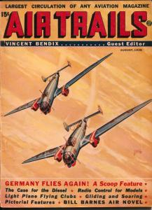 Air Trails 7/1938-hero pulp -Bill Barnes-Frank Tinsley-G. L. Eaton-VG