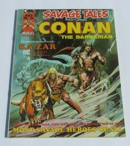Savage Tales #5 VF Conan the Barbarian 1974 Marvel Magazine Neal Adams Ka-Zar