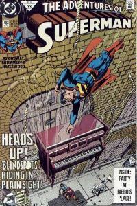 Adventures of Superman (1987 series) #483, NM- (Stock photo)